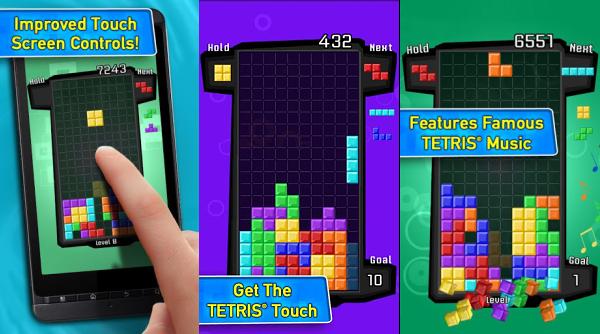 Андроид Приложения на Седмицата: Tetris free