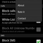 Calls and Sms Blocker 2