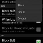 Calls and Sms Blocker 2